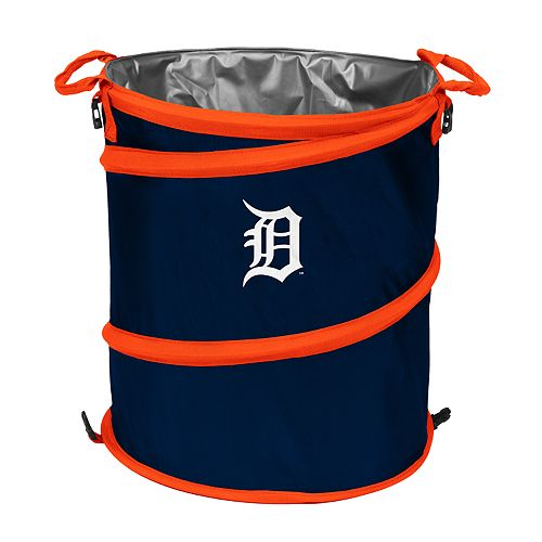 Logo Brands Detroit Tigers Collapsible 3-in-1 Trashcan Cooler