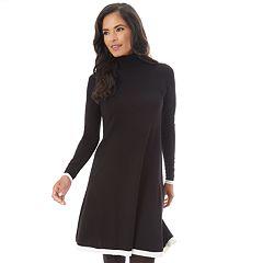 Petite Apt. 9® Turtleneck Swing Sweater Dress
