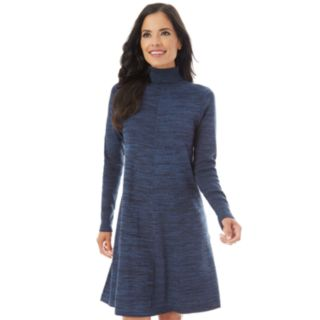 Petite Apt. 9® Turtleneck Swing Sweater Dress