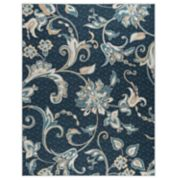 KHL Rugs Tiera Floral 3-Pc. Rug Set