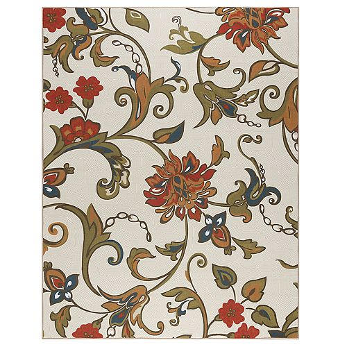 KHL Rugs Averie Floral Rug