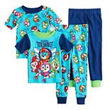 Toddler Boy Top Wing Tops & Bottoms Pajama Set