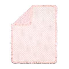 The Peanut Shell Rose Plush Blanket