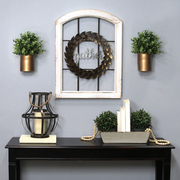 Stratton Home Decor Gather Window Pane Wall Decor