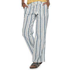 9e742060f035c Women's SONOMA Goods for Life™ Linen-Blend Pants