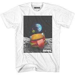 Boys 8-20 Fortnite Burger In Space Tee