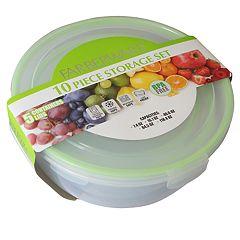 Faberware 10-pc. Plastic Round Food Storage Container Set