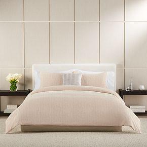 Simply Vera Vera Wang Spa Triangle Texture Duvet Cover Set