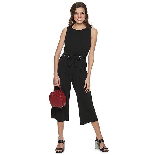 Women's Apt. 9® Sleeveless Wide-Leg Jumpsuit