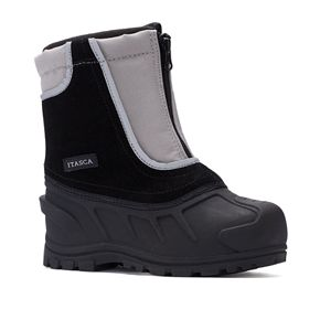 Itasca Snow Buster Toddler Boys' Water Resistant Winter Boots
