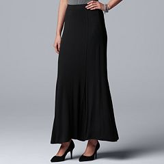 Women's Simply Vera Vera Wang Seamed Maxi Skirt