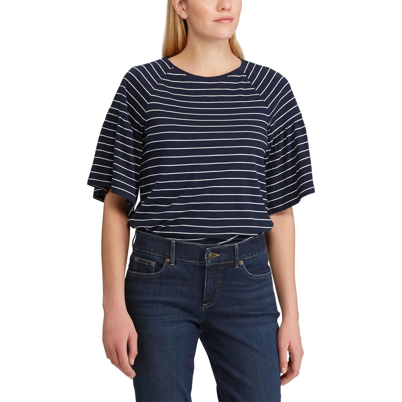 Women's Chaps Short Sleeve Knit Top