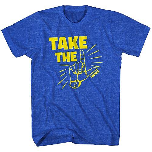 "Boys 8-20 Fortnite ""Take The L"" Tee"