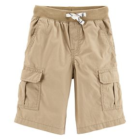 Boys 4-14 Carter's Pull On Midtier Cargo Shorts