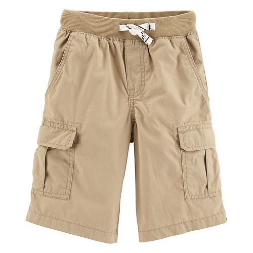 Boys 4-14 Carter's Pull On Midtier Cargo Shorts