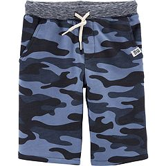 Boys 4-14 Carter's Printed Knit Shorts