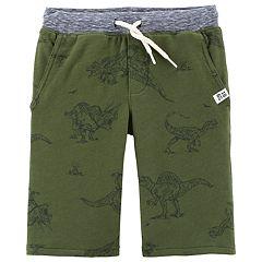 Boys 4-14 Carter's Printed Knit Shorts
