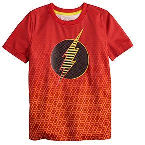 Boys 4-12 Jumping Beans® The Flash Logo Active Tee