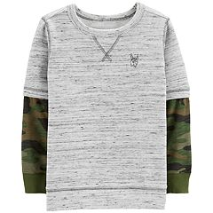 Boys 4-14 Carter's Mock Layer French Terry Top