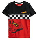 Boys 4-12 Jumping Beans® Hot Wheels Colorblock Active Tee