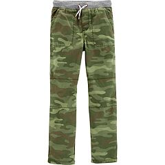 Boys 4-14 Carter's Camouflaged Midtier Pull On Pants