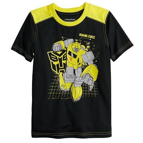 Boys 4-12 Jumping Beans® Transformers Bumblebee Active Tee