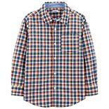 Boys 4-14 Carter's Plaid Shirt