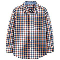 Boys 4-14 Carter's Plaid Shirt