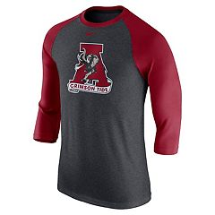 Men's Nike Alabama Crimson Tide Logo Tee