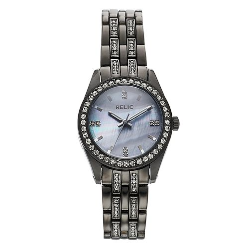 Relic by Fossil Women's Iva Crystal Accent Watch - ZR34538
