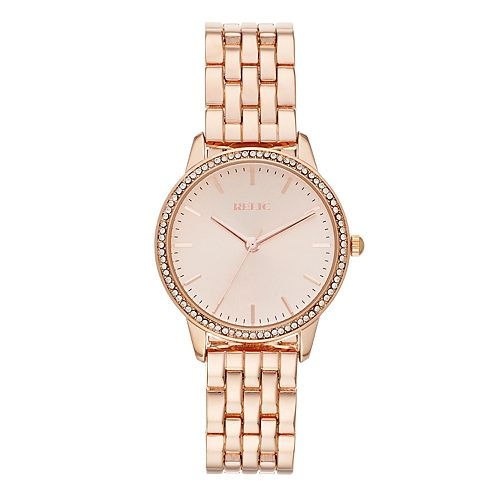Relic by Fossil Women's Georgia Crystal Accent Watch - ZR34526