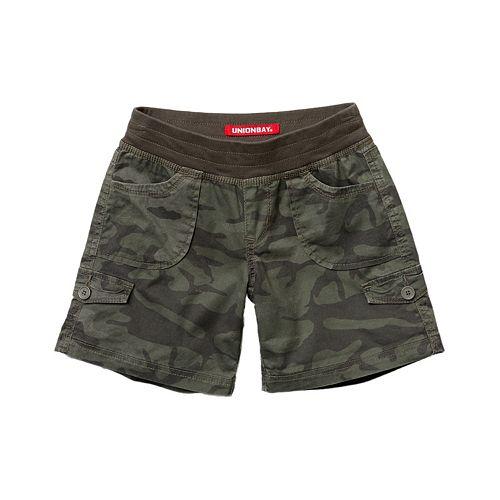 Girls 7-16 Unionbay Pull-On Shorts