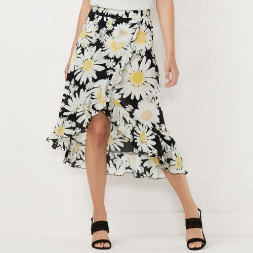 Women's Lc Lauren Conrad Midi Skirt by Kohl's