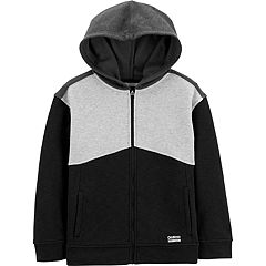 984efc33dc05 Boys 4-14 OshKosh B gosh® Active Zip Hoodie. Blue Black