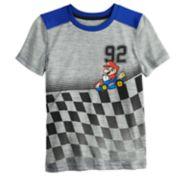 Boys 4-12 Jumping Beans® Super Mario Bros. Mario Racer Active Tee