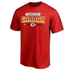 Men's NFL Kansas City Chiefs Patrick Mahomes Cannon Graphic Tee