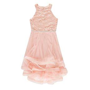 Girls 7-16 Speechless Sequin High-Low Dress