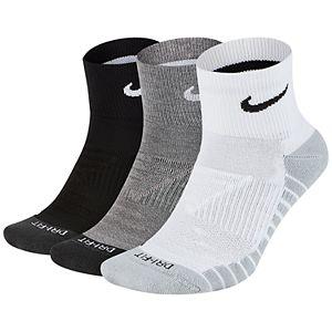 Men's Nike 3-Pair Everyday Max Cushion Ankle Training Socks