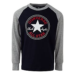 Boys 4-7 Converse Chuck Patch Raglan Graphic Tee
