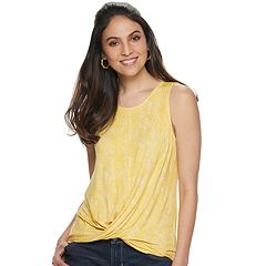 c8ee85d4363d Womens Yellow Tops, Clothing | Kohl's