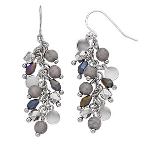 SONOMA Goods for Life? Dangling Mixed Bead Drop Earrings