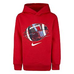 Boys 4-7 Nike  Sports Ball Logo Pullover Hoodie