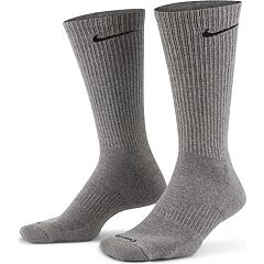 d47f1cace6af Men s Nike 6-pack Everyday Plus Cushion Crew Training Socks. Gray Black  White