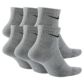 Men's Nike 6-pack Everyday Plus Cushion Ankle Training Socks