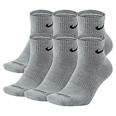 Men's Nike 6-pack Everyday Plus Cushion Ankle Training Socks