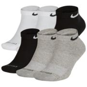 Men's Nike 6-pack Everyday Plus Cushion Low-Cut Training Socks