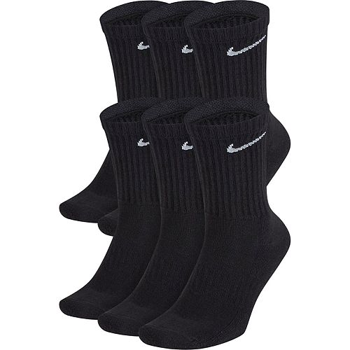 Men's Nike 6-Pair Everyday Cushion Crew Training Socks