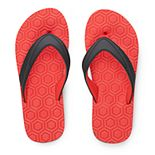 Boys 4-20 Tek Gear® Print Soft Textured Flip-Flops