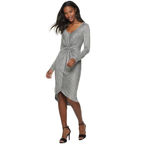 Women's Jennifer Lopez Twist High-Low Dress