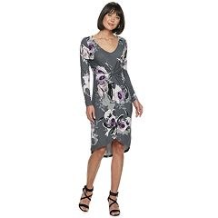 Women's Jennifer Lopez Twist High-Low Dress